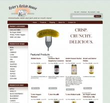 Byler's Relish House home page