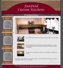 Home page for Fairfield Custom Kitchens