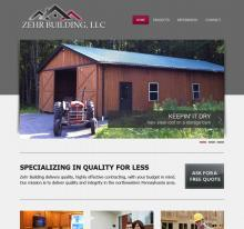 Zehr Building LLC home page