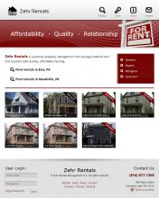 Home page for Zehr Rentals
