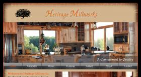 screenshot of Heritage Millworks