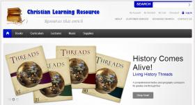 Home page for Christian Learning Resource