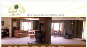 Home page of Sunrise Acres Retreat